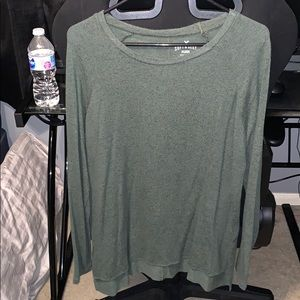 Long sleeve...army green